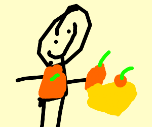 Collecting an Orange