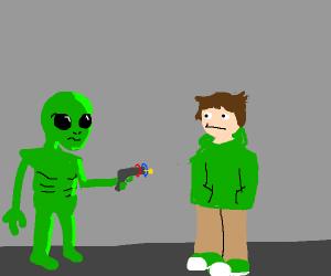 aliens take eddsworld from edd