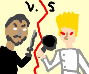 Gordon Ramsay VS Keanu Reeves