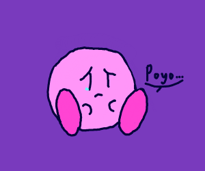 Kirby is dEpReSsed