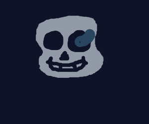 Sans being creepy