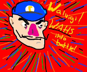 Waluigi is a new challenger!