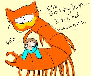 Garfield god