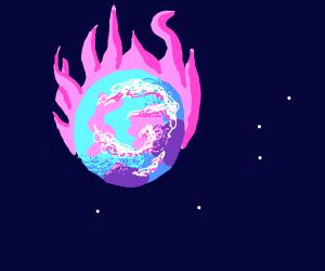 We der da World in fire