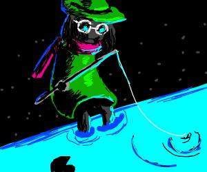 Raisel goes fishing
