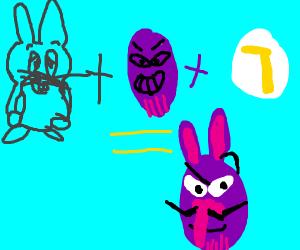 Big Chungus Thanos Waluigi Drawception