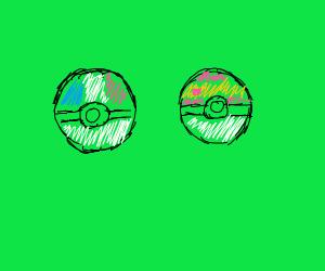 French and Spanish Pokeball