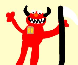 Elmo is lieutenant of satan