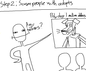 Step 1: Use Drawception for free commissions
