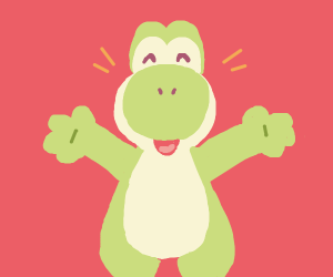 Yoshi want some hugs