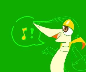 Snivy Singing