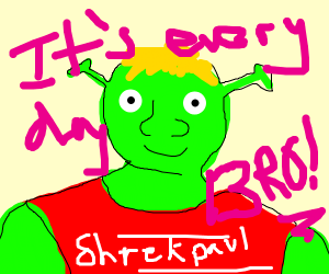 WHY? SHREK JAKE PAUL