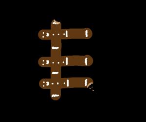 Conjoined gingerbread men
