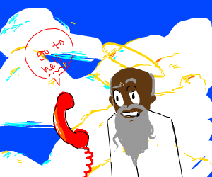 Phone tells god to go to hell