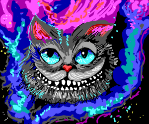 Cosmic Gray Cheshire Cat