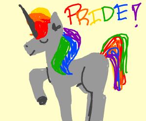 Gay unicorn