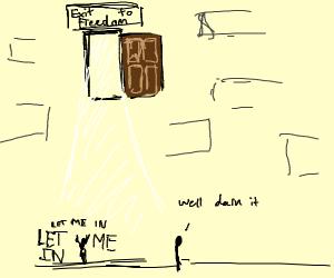 the door way to freedom