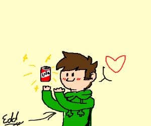 edd loves his cola