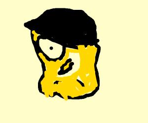 Spongebob gone goth