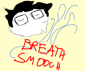 john egbert kisses the wind