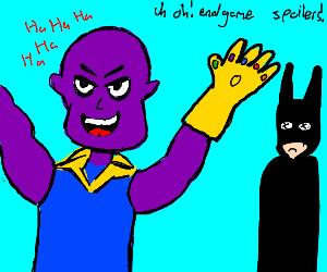 Batman dies in endgame