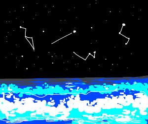 Shooting Stars over the Horizon