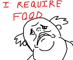 Guy needs food