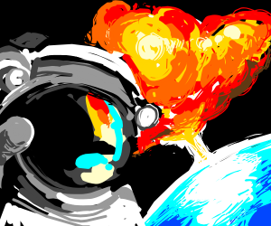 cool astronauts don't look at explosions