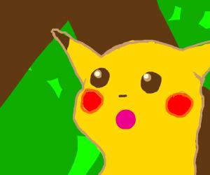 Pikachu Gasp