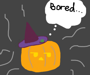This is Halloween and it's boring