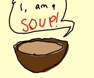 self confident soup