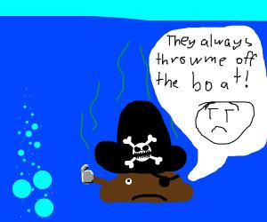 pirate poop