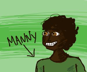 cute kit named Manny