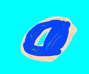 donught blue