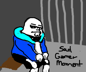 peter griffin is sans, and in prison