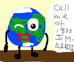 Earth's phone number
