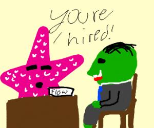 Starfish hiring Goblin
