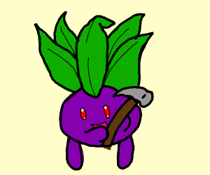 Oddish with a Hammer