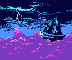 Sailing During a Storm