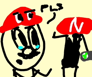 Mario Wants His Xbox Back