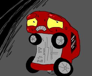 paranoid car