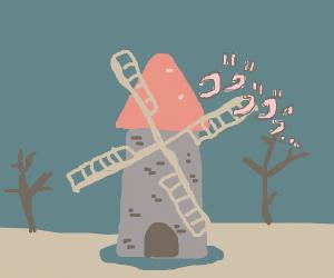 Evil windmill