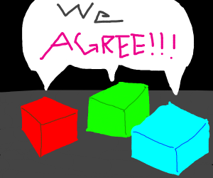 3 very agreeable cubes