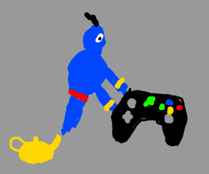 Genie gifts you an Xbox controller