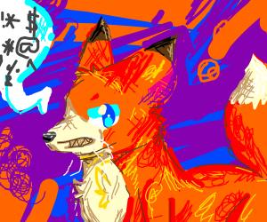 Swearing Fox