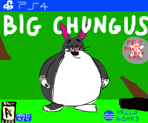 Fat Bugs Bunny In Ps4 Drawception