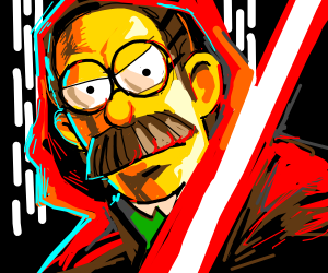 Ned Flanders is a SITH LORD?!?!