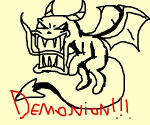 Black Eveelution Named Demonio (forgot name)