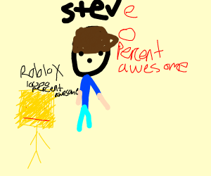 steve is 0 percemt epic