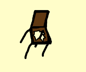 quick! an open chair!